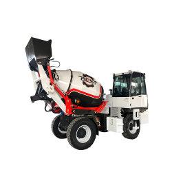 3m3 Precio barato Hormigonera camión móvil y el transporte de carga con hormigonera