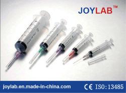 محقنة يمكن التخلص منها للاستخدام الفردي من 1 مل إلى 100 مل مع الإبرة