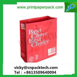 Sacs d'impression personnalisée sur mesure sacs d'emballage de vente au détail de haute qualité emballages papier Emballage cadeau sac de papier cadeau sac à main des sacs en papier de couleur