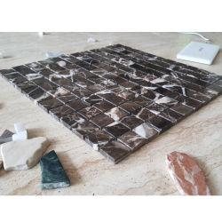 Motif de la mosaïque de pierre de marbre/mosaïque de Pattern pour les tuiles de plancher