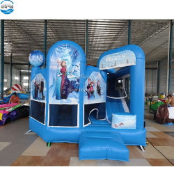 Kids를 위한 싼 Bounce House Frozen Inflatable Bounce House Frozen Bouncy Castle