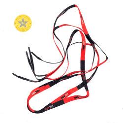 Usine de gros de transfert de chaleur personnalisé imprimé de polyester Shoelace tube
