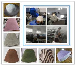 سوق أوروبا للتصدير 100 ٪ Wool اللباد قبعة في المخروط أو خط Capeline