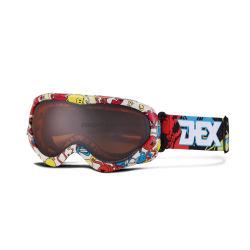 Het Skien van de Lens van de ski de Dubbele MistBeschermende brillen van de Bijziendheid van de Sporten van de Sneeuw van Glazen
