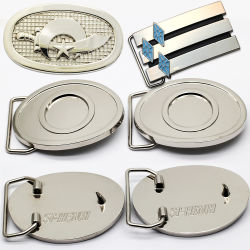 Groothandel Goedkope Custom Metal Fashion Belt Accessoires Mens Metal Belt Buckle