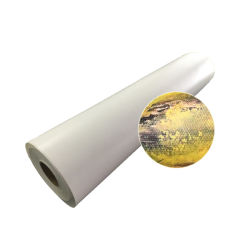 폴리에스테 안료 잉크를 위한 광택이 없는 화포 종이 롤을 인쇄하는 넓은 체재 260GSM 잉크 제트 디지털