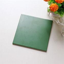 Jla 200x200mm Glaze Cozinha verde-escuro de ladrilhos de cerâmica azulejos de parede