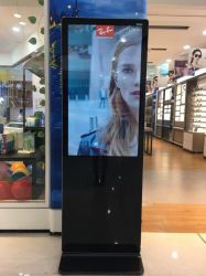 Véritable 1080P Affichage LED verticales de plein air Shopping Mall Kiosk Touch