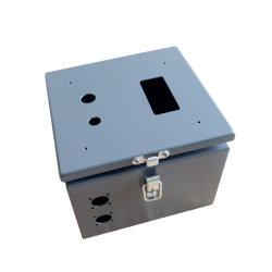 Feuille de métal en acier inoxydable de jonction de contrôle électrique électrique Boîtier de compteur