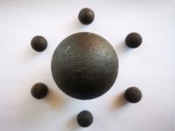 Hohe Chrom-Legierung warf die reibende Media-Kugel, die im Kugel-Tausendstel für Bergbau und Kleber-Pflanze verwendet wurde