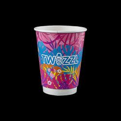 뚜껑 및 슬리브 포함 종이 컵_일회용 절연 커피 컵_덮개 도매가 있는 종이 컵