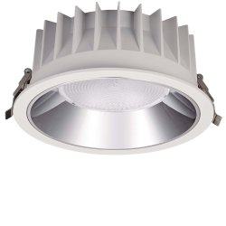 深い防眩スポットライトランプ10With20With30With40With50Wの商業穂軸の点照明によって引込められる屋内LEDの天井はつく