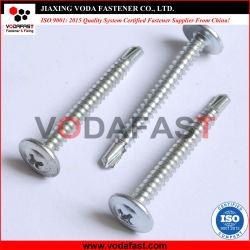 Vodafast oblea grande Collar de cabeza redonda con la cabeza de perforación automática el tornillo C1022 con cincado-2