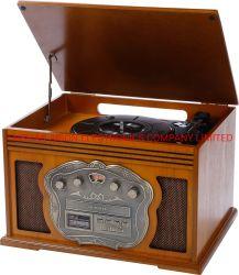 Aison Music Speaker cassa in legno giradischi decorazione classica