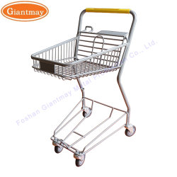 Japanse stijl kleine supermarkt Winkelen rolly Cart met stoel