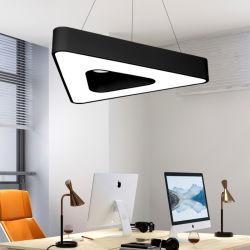 Bom desempenho de iluminação LED Lâmpada de modelagem de costura de forma triangular oco do anel de luz para a Biblioteca do Banco Cen t e de fitness do Office