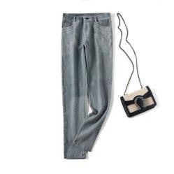 La mode femme Jeans, coton stretch Jeans, Pocket Denim Jeans, desserrés Jeans, Mesdames Jeans