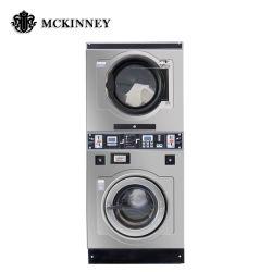 10kg a 30kg completamente automática de tarjetas de tokens de monedas para el lavado de Lavandería Servicio de lavandería de monedas tienda de autoservicio para lavadora y secadora para uso comercial