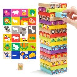 Blockt das Lernen des Kind-mathematischer Spaß-pädagogischen Spielzeugs