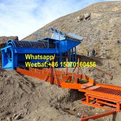 Tipo de móvil en pequeña escala portátil arena aluvial de la planta de lavado de oro