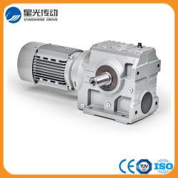 Motore ad ingranaggi della Elicoidale-Vite senza fine montato piede della serie S