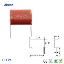 Condensateurs à film polypropylène métallisé 224J630V