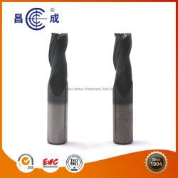 Matérias-primas de carboneto de madeira Router CNC o bit 3 flautas espiral de carboneto Moinho Final