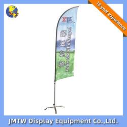 Bandera de la playa de la Publicidad Banner Display Stand