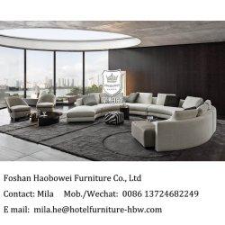 異なったバージョンの新しい構成が付いているロビーで使用されるモジュラー多目的なホテルのソファー