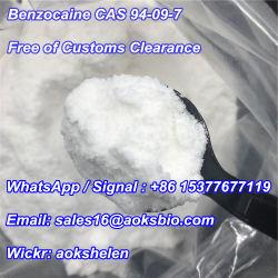Consegna Sicura Al 100%! Gas Anestetico Benzocaina In Polvere Cas 94-09-7 Fornitore Affidabile