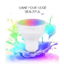 preço de fábrica Lâmpada LED RGBW GU10 Luz interna direcionável