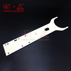 Al2O3/cerámica alúmina del brazo de transporte, la precisión de piezas de cerámica, procesamiento personalizado.