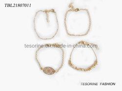Art-Armband-Metallraupe-Armband-Set Form-Schmucksache-der neuen Entwurfs-Frauen