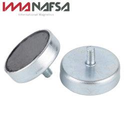良い業績の鉄の箱が付いている常置亜鉄酸塩の鍋の磁石