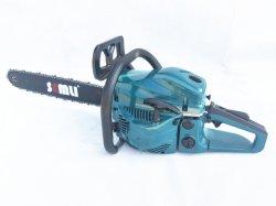 52cc gaz scie de coupe de puissance des outils agricoles pour le grand arbre avec la barre de coupe 20 pouces