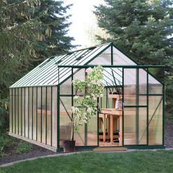 Hueco de 6mm Hoja de policarbonato transparente de los invernaderos del jardín