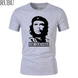 Comercio al por mayor de 95 Algodón Spandex 5 Camiseta Camiseta de impresión personalizado