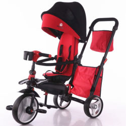 Tricycle bon marché de gros bébé porte-bébé 4 en 1 Fabricants de tricycle
