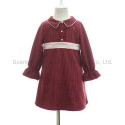 2019 de Overhemden van de Plaid Fw kleedt de Toevallige Levering voor doorverkoop Uit één stuk van de Manier voor Meisjes