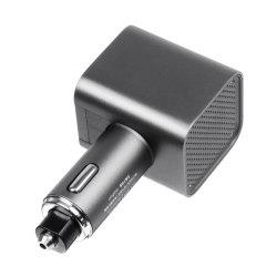 3.0 Pm 2,5 USB auto voiture anion de l'air ioniseur purificateur de filtre HEPA Odeur de charge rapide de la fumée Remover