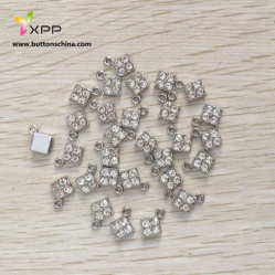 Droplet diamante com Prata Chapeada