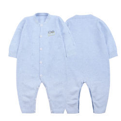 La Chine personnalisée en usine de gros de vêtements de coton 100 nouveau-nés Baby Rompers