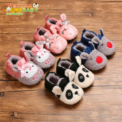 Venda por grosso de recém-nascido Bela Bonitinha Fur Parte fantasia único moderno Soft Winter Bebê Casual meninas de calçado