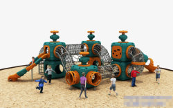 2020 Nuevos Niños Parque infantil exterior equipos para el parque de atracciones de la escuela