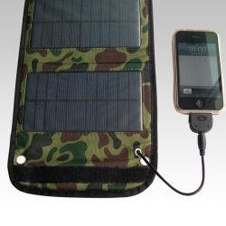 Het vouwen van de Draagbare Mobiele Lader van het Zonnepaneel van de Telefoon USB