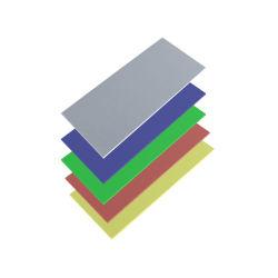لوحة تسجيل ألوان مزدوجة ABS لماكينة الليزر