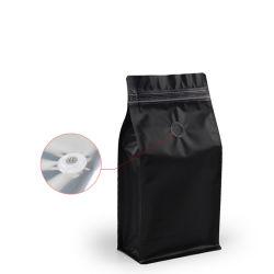مقص محذوفات مسطح قابل لإعادة التدوير بسعة 500 جرام واحد كجم مطبوع مخصص كيس صمام كيس لحقيبة القهوة