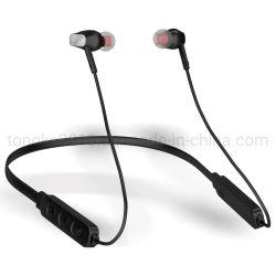 Lautstärkeregler-Stereobaß Sports Neckband Handfree, das mit Mikrofon für Handy Freisprech ist