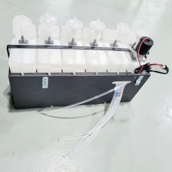 نظام خزان حبر CISS للوصول الجديد لإبسون L1800 L805 طابعة نفث الحبر DTF المزودة بتقنية تحريك الحبر الأبيض