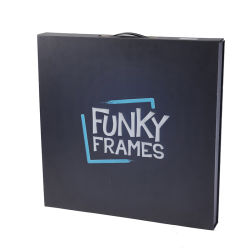 Briefcaseのための高品質Custom Paper Rigid Foldable Box
